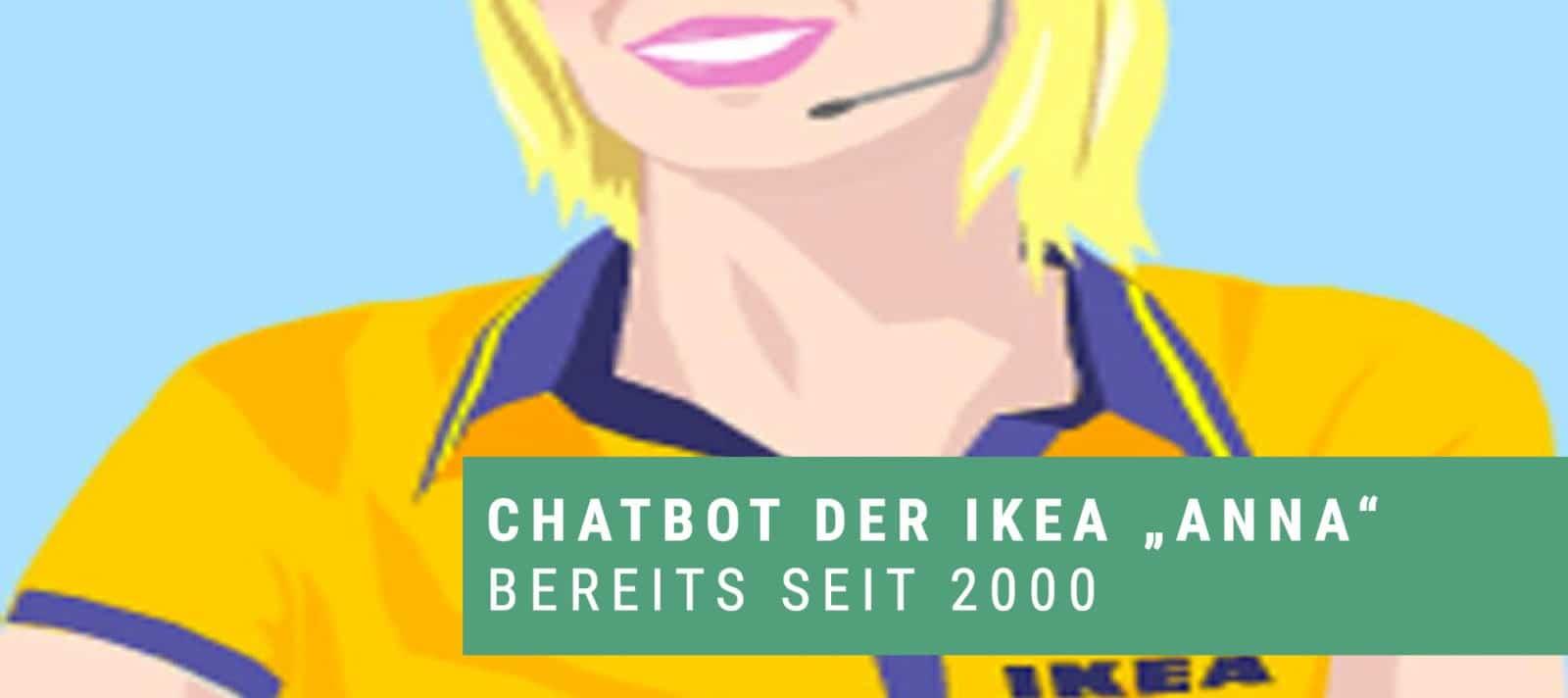 Chatbot Anna von Ikea